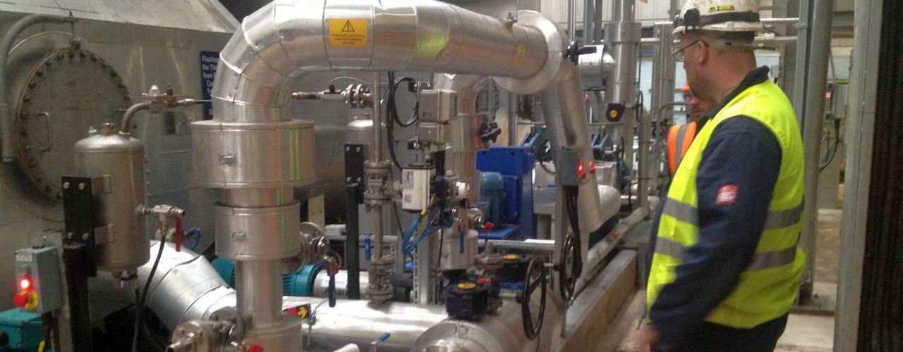 on-site equipment & pipework installation