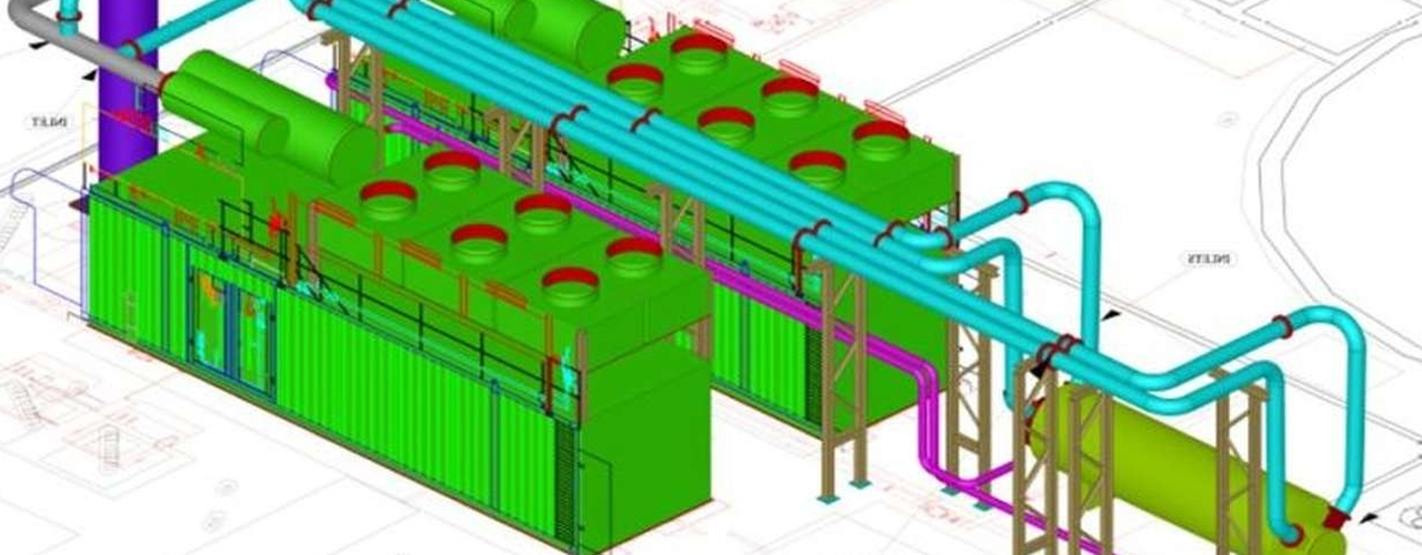 mechanical design & pipework layout